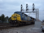 CSX 654 & 4740